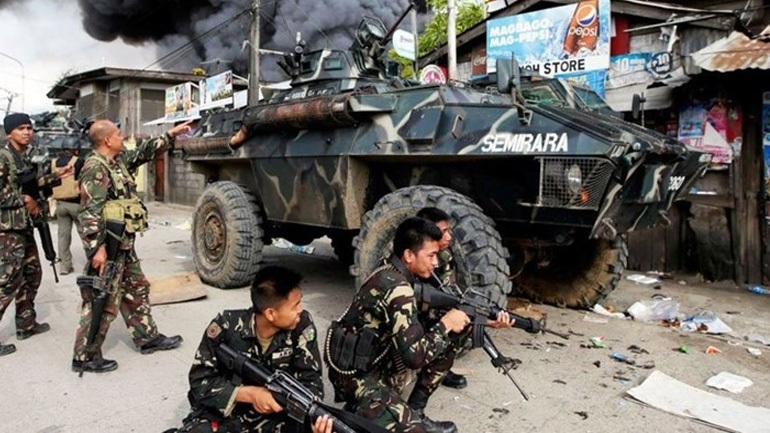 Φιλιππίνες : Στους 95 οι νεκροί από τις εξαήμερες πολεμικές συγκρούσεις
