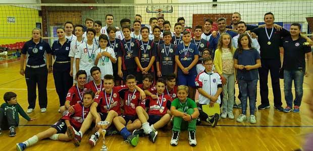 Ολοκληρώθηκε με απόλυτη επιτυχία το final 4 volley κατηγορίας παμπαίδων
