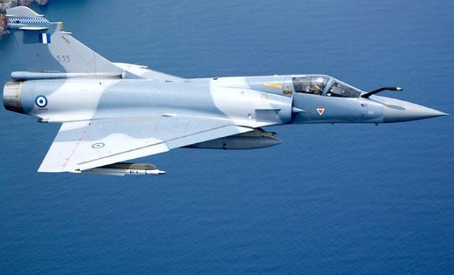 Πτώση αεροσκάφους Mirage 2000 στις Σποράδες