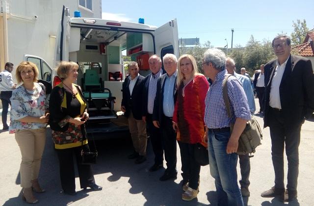 Σε κυκλοφορία το νέο ασθενοφόρο του Κέντρου Υγείας Βελεστίνου