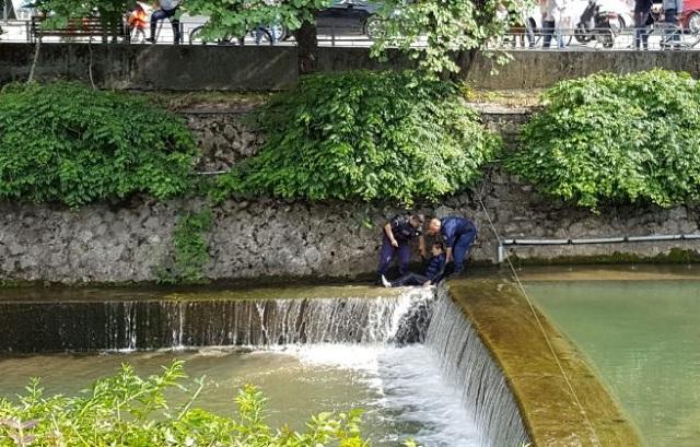 Συναγερμός για άνδρα που βούτηξε στο Ληθαίο ποταμό στα Τρίκαλα