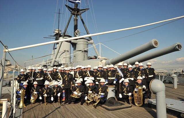 Συναυλία της διάσημης Μπάντας του Πολεμικού Ναυτικού για τη στήριξη της ΕΛΕΠΑΠ Βόλου