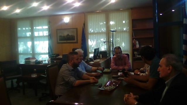 Συνάντηση στο Υπουργείο για την παραχώρηση οικοπέδου στη Νίκη Βόλου