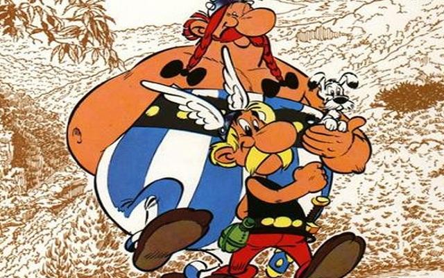 Ο Αστερίξ επιστρέφει ...στους Βέλγους στο μουσείο των κόμικς