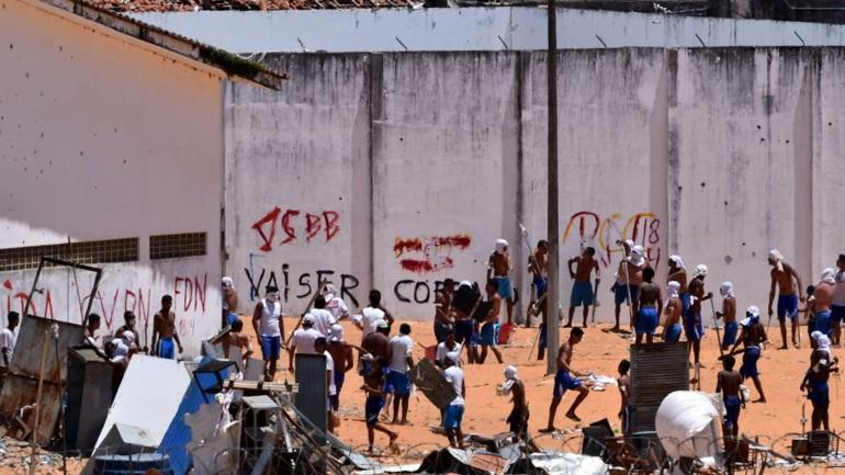 Βραζιλία: Φονική εξέγερση σε φυλακή - Επτά νεκροί