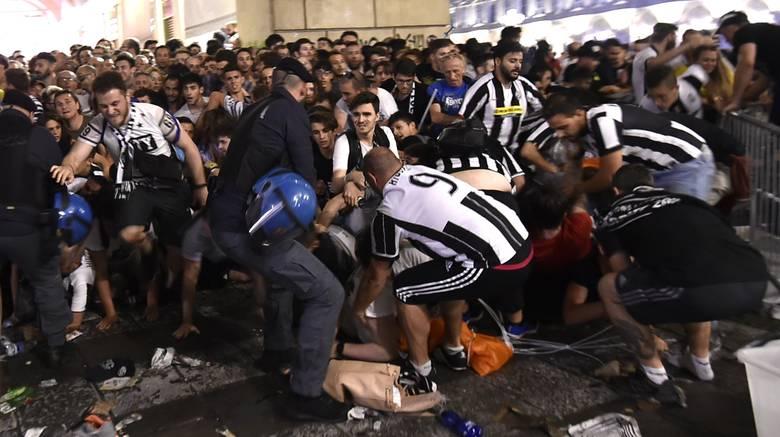 Παραλίγο τραγωδία στο Τορίνο, τραυματίες και πανικός (vid)