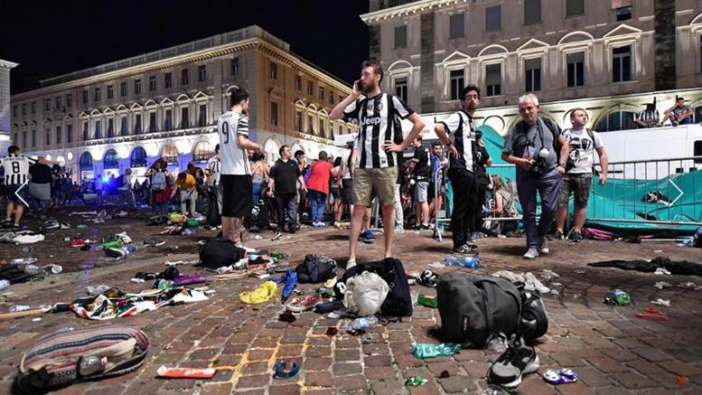 Ιταλία: 1.400 οι τραυματίες στο Τορίνο