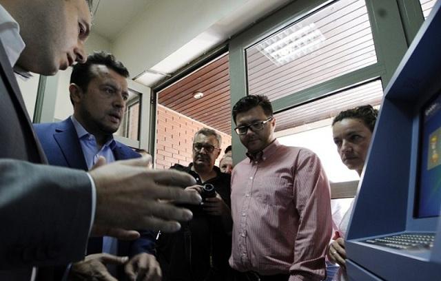 Από ΑΤΜ θα παίρνουν τα πιστοποιητικά στα Τρίκαλα