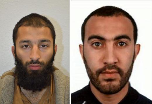 Στη δημοσιότητα τα ονόματα δύο εκ των δραστών της επίθεσης στο Λονδίνο