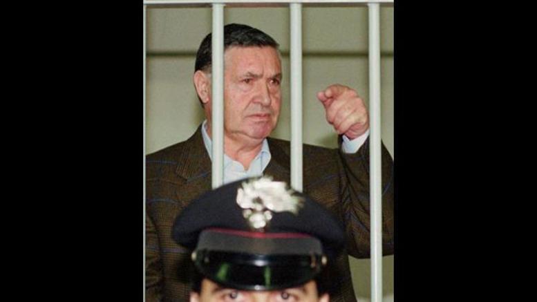 Με δικαστική απόφαση θα αποφυλακιστεί ο διαβόητος μαφιόζος Τοτό Ρίινα