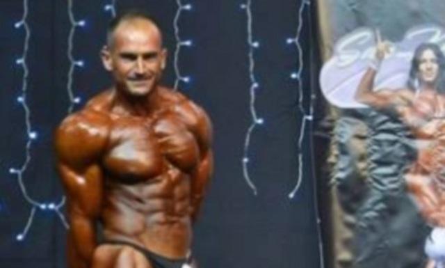 Ο Τρικαλινός αστυνομικός που σάρωσε σε διαγωνισμό Body Building