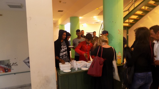 Οι νέοι της «Αρσις» Βόλου σε εκδήλωση στο Πανεπιστήμιο