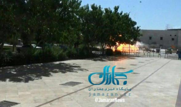 Βίντεο-ντοκουμέντο: Η στιγμή της έκρηξης στο Μαυσωλείο του Χομεϊνί