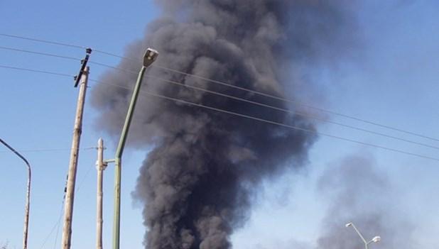 Εισαγγελική παρέμβαση για τη φωτιά στο εργοστάσιο κεραμοποιίας στη Λάρισα