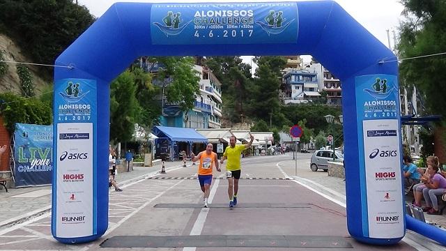 Θριάμβευσε 46χρονος τυφλός δρομέας στο «Alonissos Challenge»
