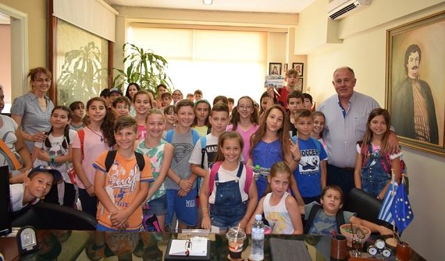 Μαθητές του Διμηνίου έμαθαν για τον Ρήγα Βελεστινλή