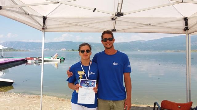 Πρωταθλήτρια Ελλάδος η Τριανταφυλλίδη του ΝΟΒΑ