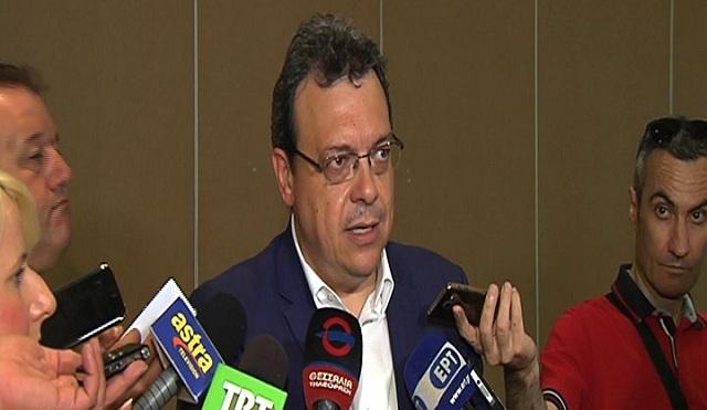 Συνάντηση Σ.Φάμελλου με Δημάρχους της Θεσσαλίας για την επέκταση του φυσικού αερίου
