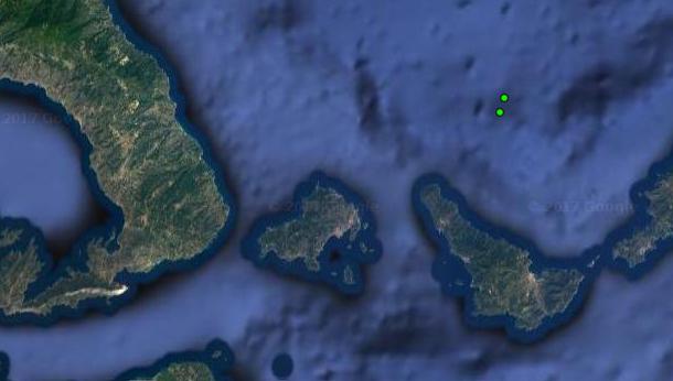 Δυο σεισμικές δονήσεις κοντά στη Σκιάθο