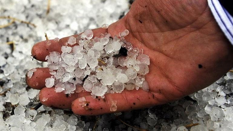 Κέρκυρα: Χαλάζι σε μέγεθος ρεβιθιού έπληξε το νησί