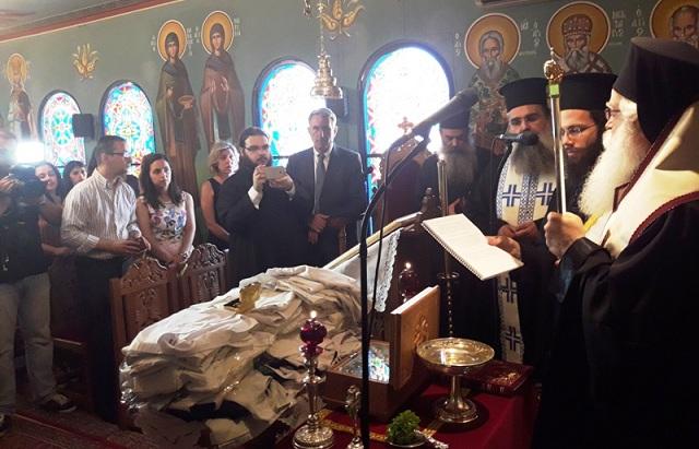 Ευλογία ιατρικών στολών στη μνήμη του Αγίου Λουκά του Ιατρού