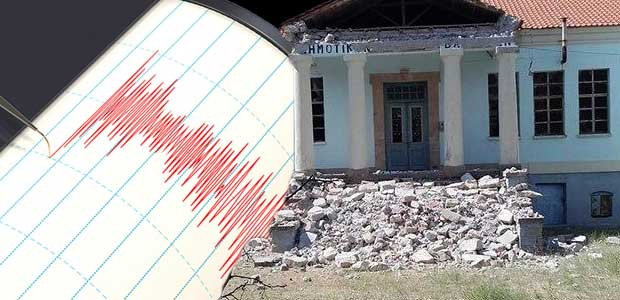 Σεισμός 6,1 Ρίχτερ ανοιχτά της Μυτιλήνης – Κατέρρευσαν σπίτια στο Πλωμάρι