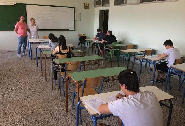 Χωρίς προβλήματα σήμερα οι Πανελλαδικές εξετάσεις στη Μαγνησία