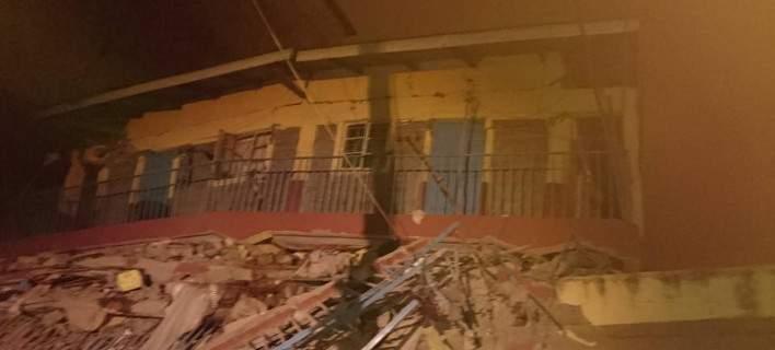 Αγνοούνται 15 άνθρωποι μετά από κατάρρευση 7όροφου κτιρίου στην Κένυα