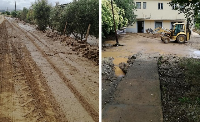 Εκτεταμένες ζημιές στον Δήμο Ρήγα Φεραίου