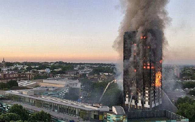 Φονική η πυρκαγιά στο Λονδίνο