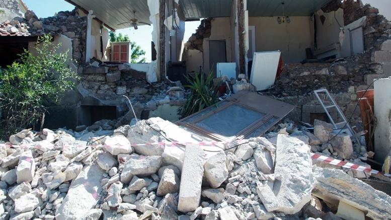 Συνεχίζονται οι έλεγχοι στην σεισμόπληκτη Λέσβο, ακατάλληλα 150 σπίτια
