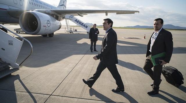 Αναγκαστική προσγείωση του πρωθυπουργικού αεροσκάφους στην Ν. Αγχίαλο