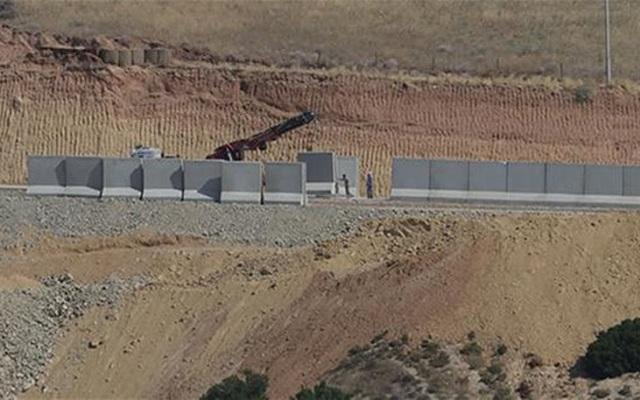Τουρκία: Κατασκευάστηκε τείχος 700 χιλιομέτρων στα σύνορα με τη Συρία