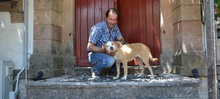 Το σκυλί της 43χρονης στη Βρίσα έσκαβε να την βρει κλαίγοντας