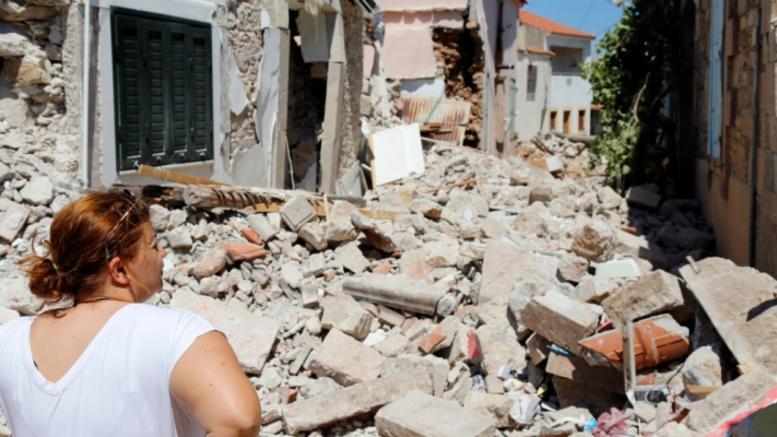 Αυξάνονται συνεχώς τα «κόκκινα» σπίτια στη Λέσβο