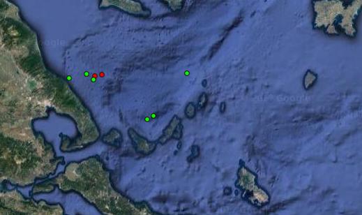 Εφτά σεισμικές δονήσεις στο Βόλο