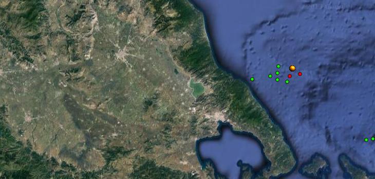 Εννέα σεισμοί σε 14 ώρες στη Μαγνησία