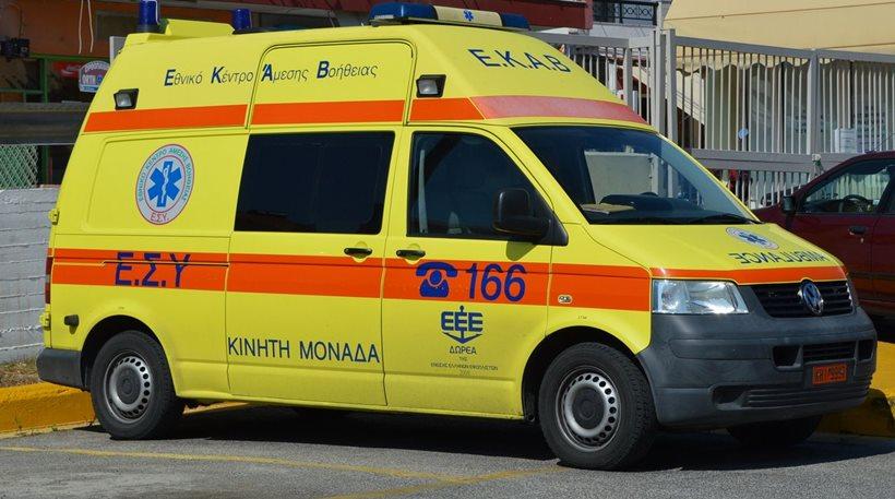 Τραυματισμός 55χρονου στη Μακρυράχη