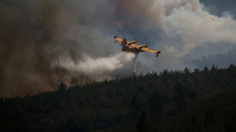 Συνετρίβη Canadair ενώ επιχειρούσε στις φωτιές στην Πορτογαλία