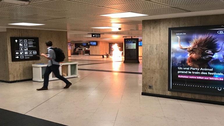 Επίθεση καμικάζι στο μετρό των Βρυξελλών - Εξουδετερώθηκε ο δράστης