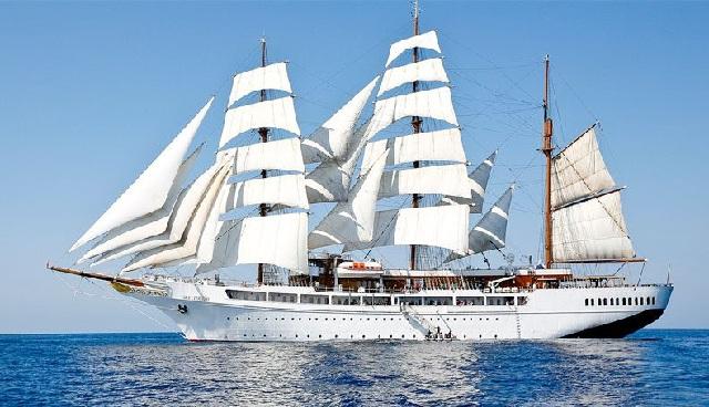 Το θρυλικό κρουαζιερόπλοιο «Sea Cloud» στον Βόλο