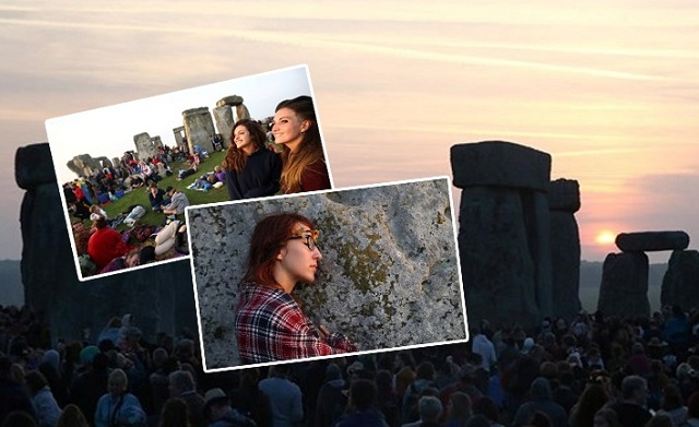Το... ξημέρωσαν στο Stonehenge περιμένοντας το καλοκαίρι