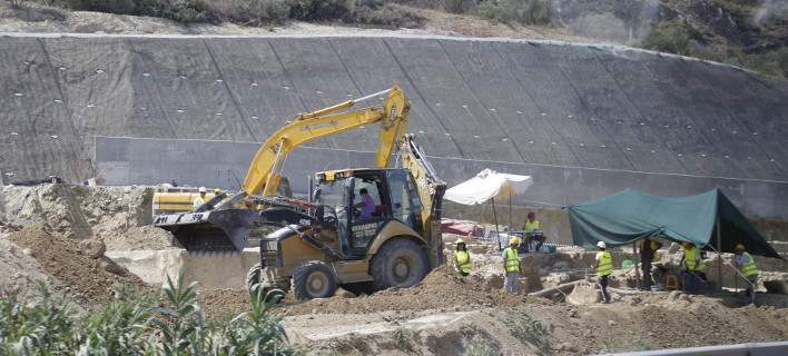 36χρονος εργάτης σκοτώθηκε στο εργοτάξιο της Ολυμπίας Οδού