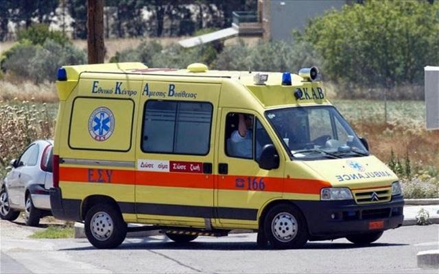 Τροχαίο με σοβαρό τραυματισμό 47χρονου στο δρόμο Λάρισας –Τρικάλων