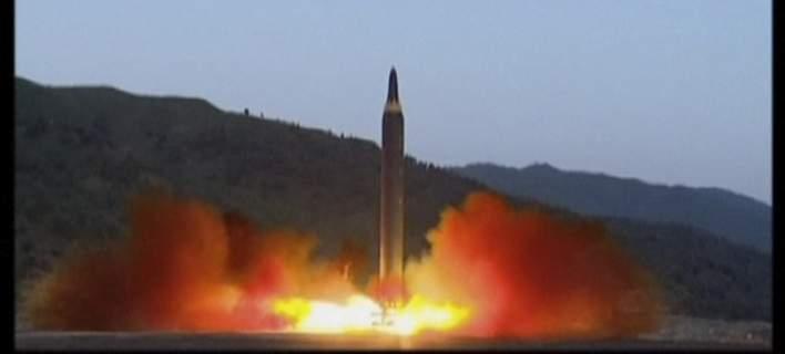 Νέα δοκιμή πυραυλικού κινητήρα από τη Βόρεια Κορέα