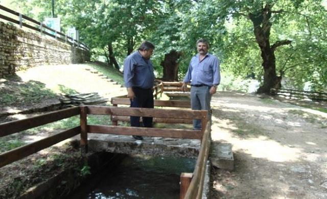 Ανάπλαση της τοξωτής γέφυρας στην Πύλη Τρικάλων