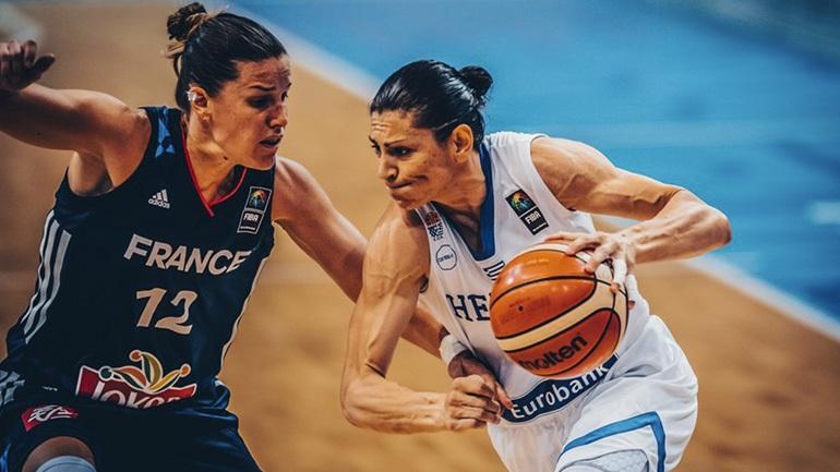 Στον «μικρό» τελικό οι Γυναίκες, ήττα 77-55 από την Γαλλία