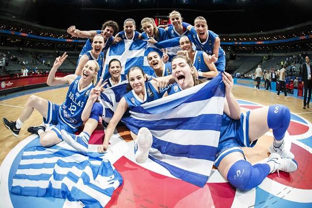 Τα κορίτσια του Ευρωμπάσκετ έχουν ραντεβού με το μετάλλιο