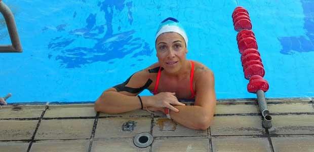 Εισιτήριο για το παγκόσμιο κολύμβησης για την Ναταλία - Ελένη Βαλαμουτοπούλου