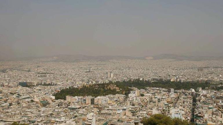 Υπέρβαση του ορίου ενημέρωσης για το όζον σε περιοχές της Αθήνας